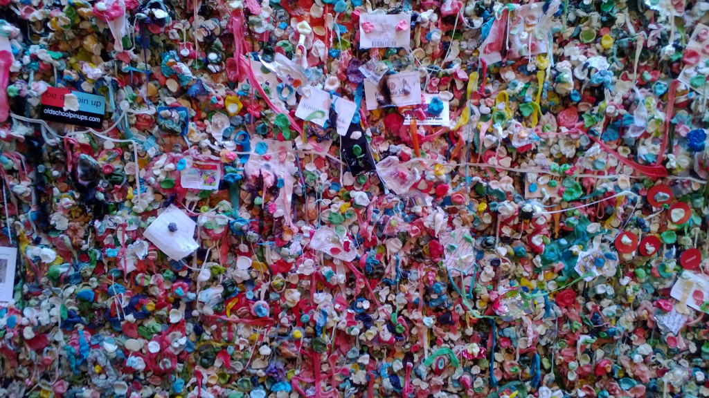 Gum Wall, Market Theatre, Seattle